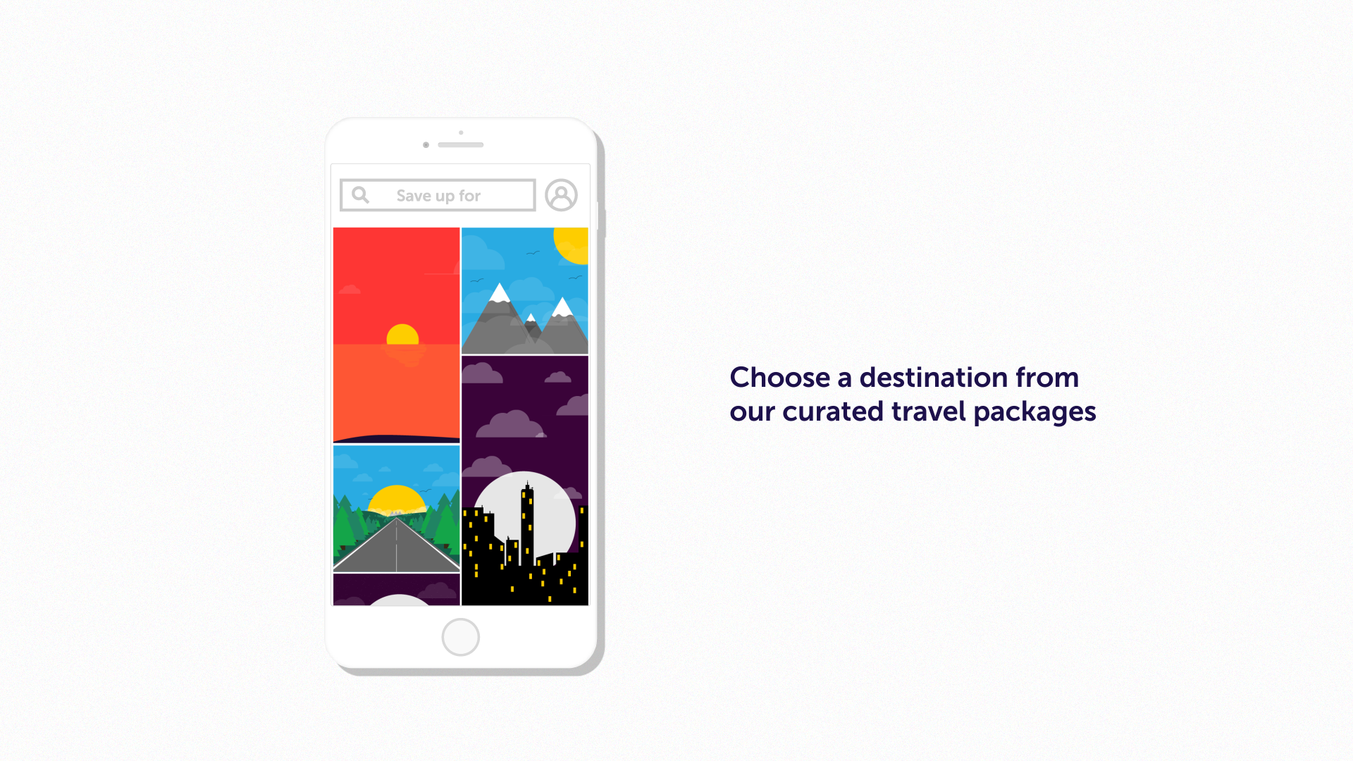 app launch motion design