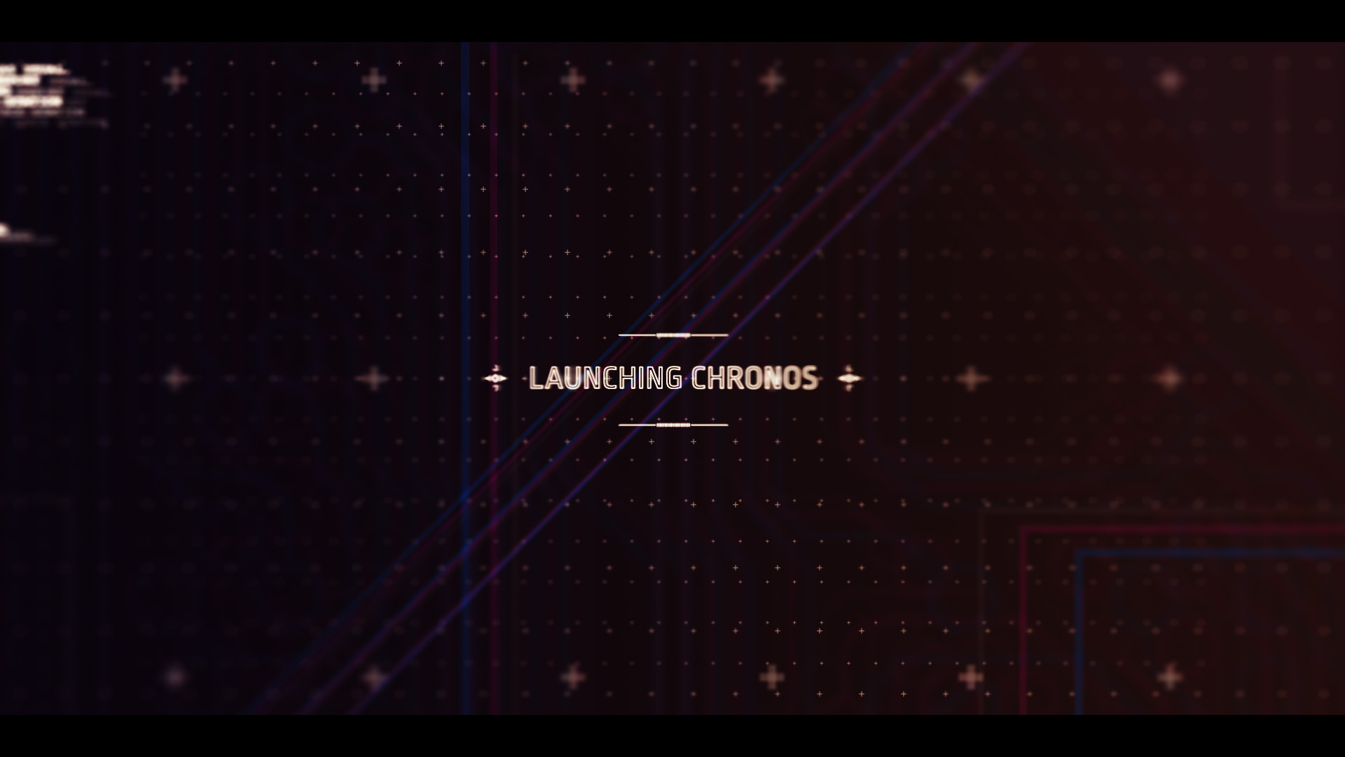 chronos interface text after effects