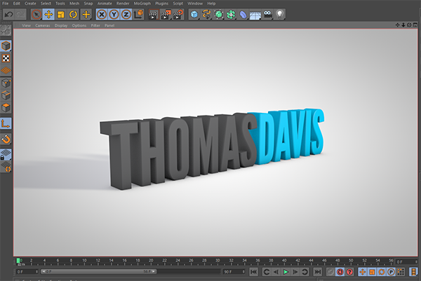 Cinema 4D Lite render infinite background