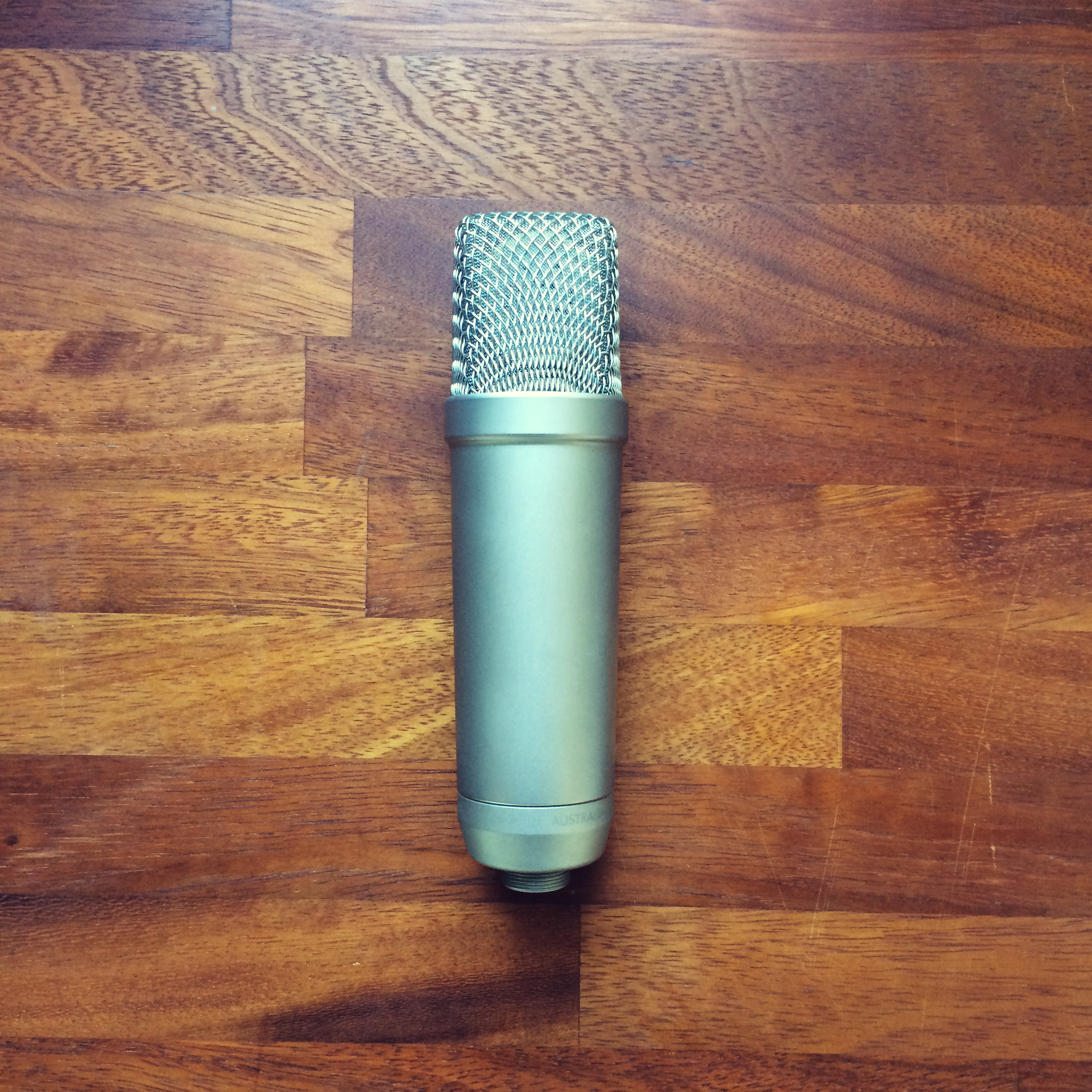 rode microphone voice over work