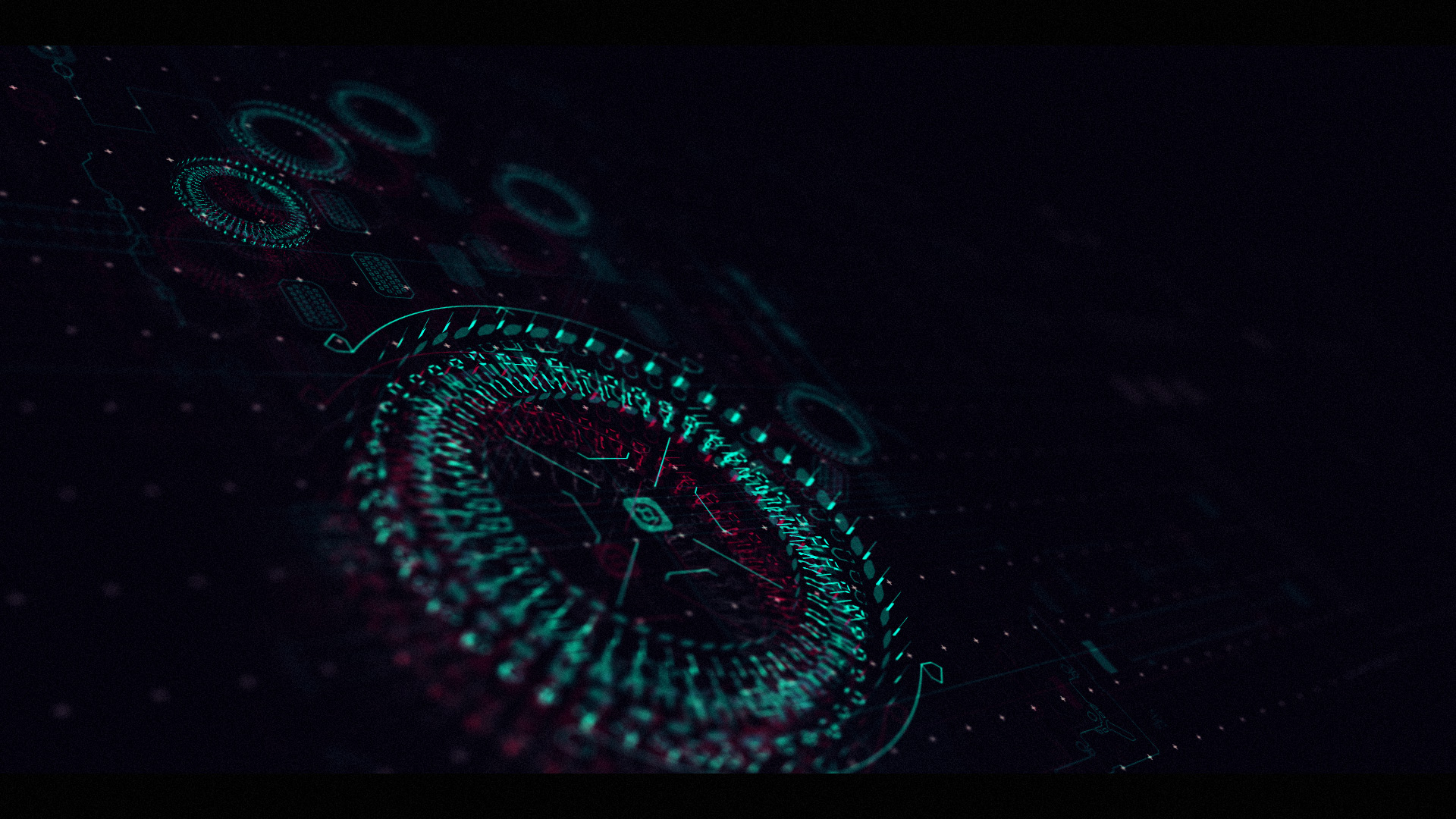 Sci-fi hand scanner interface design after effects